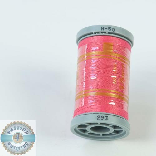 Presencia Cotton Quilting Thread 50wt 500m Colour 293 Bright Pink