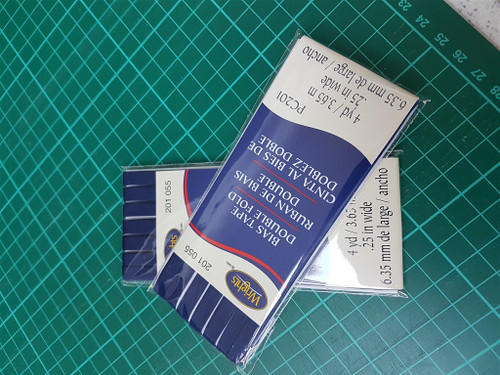 Bias Tape 1/4inch Navy