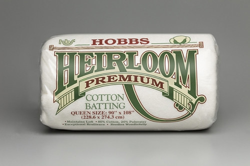Hobbs Premium Cotton Batting 81x96inches