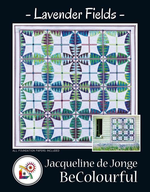 Lavender Fields by Jacqueline de Jonge