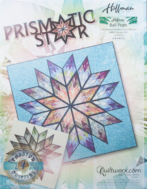 Prismatic Star by Judy Niemeyer Quiltworx.
