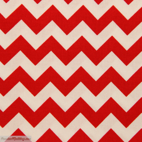 Chevron small red 340-80. Fat quarter
