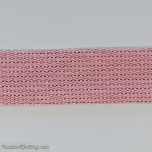 Webbing light pink. per metre