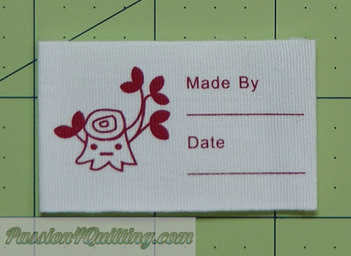 Project Labels pack of 5
