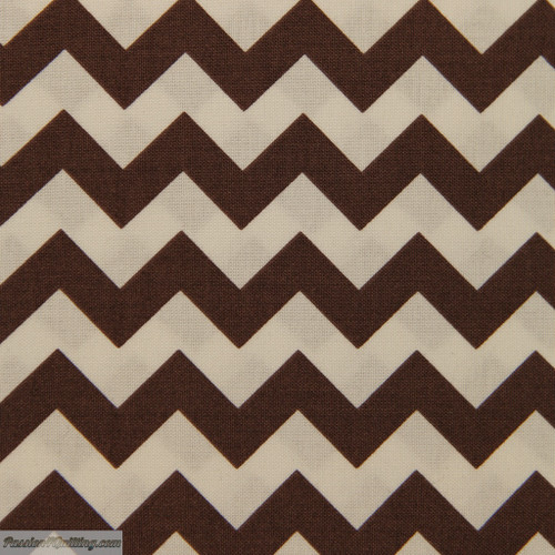 Chevron small brown. 340-19. Fat quarter