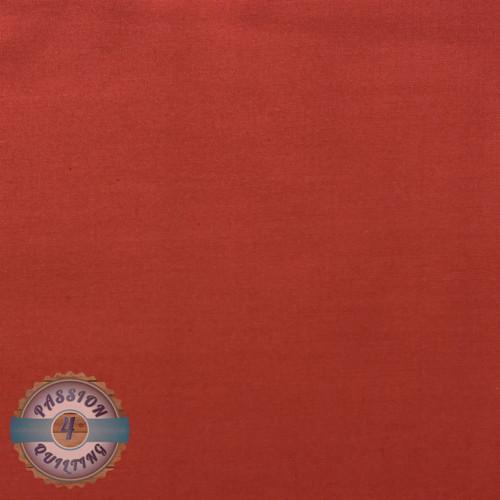 Red plain fabric per 25cm