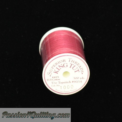 King Tut Quilting Thread 500yards Colour 1000