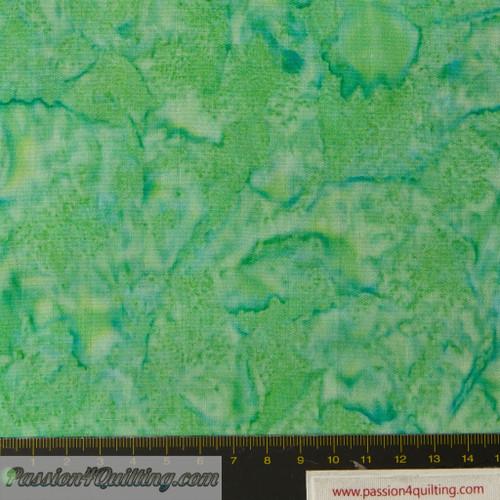 Batik  green SSB0079 per 25cm