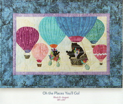 Oh the places You'll Go from 12 Months of Happy by McKenna Ryan