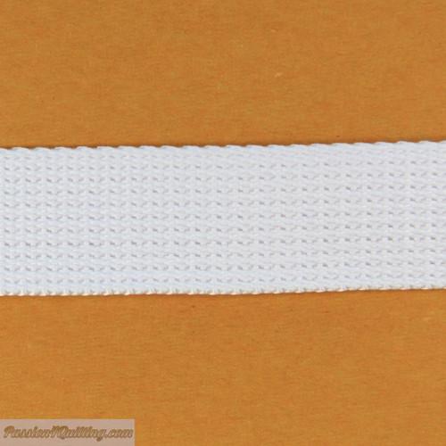 Webbing White. Per metre