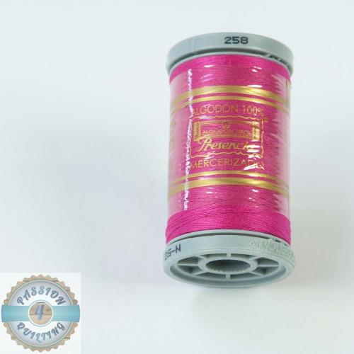 Presencia Cotton Quilting Thread 50wt 500m Colour 258 Pink