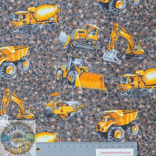Trucks and Diggers per 25cm 1