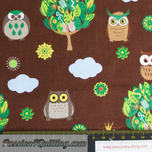 Brown Owls. per 25cm