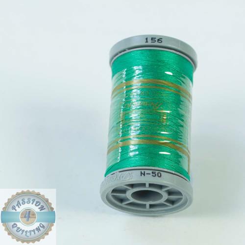 Presencia Cotton Quilting Thread 50wt 500m Colour 156 Blue-Green