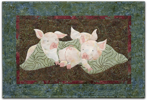 Back on the Farm Pigs in a blanket pattern by McKenna Ryan