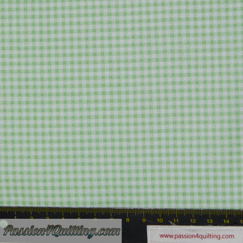 New Gingham Mint 920/G5. Per 25cm.