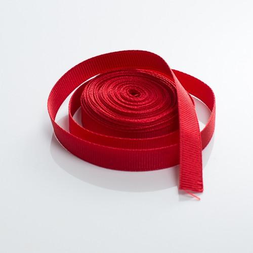Red grosgrain ribbon 5m