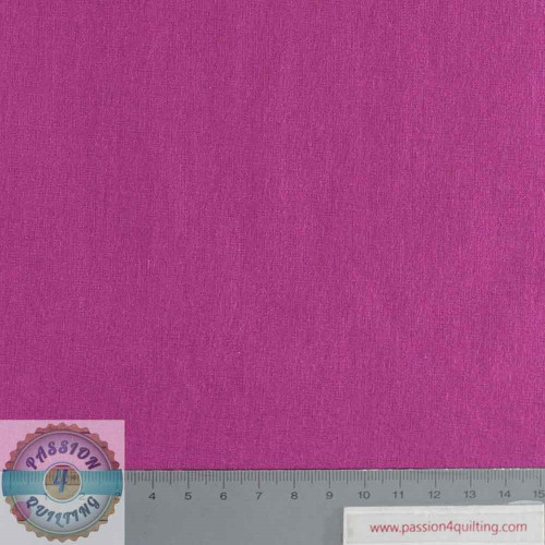 Rose & Hubble True Craft Cotton Raspberry 25 per 25cm