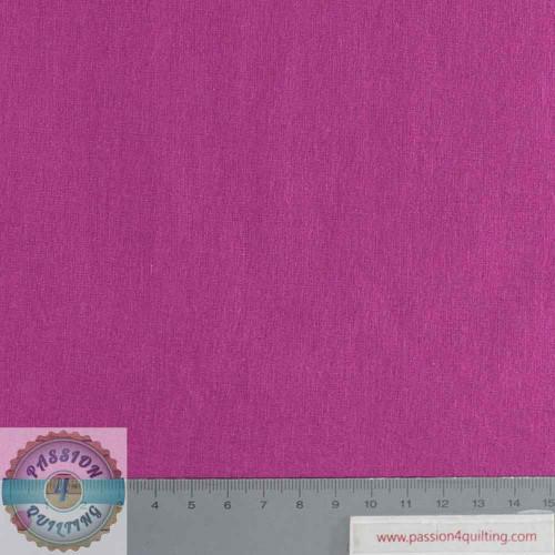 Rose & Hubble True Craft Cotton Raspberry 25 per 25cm