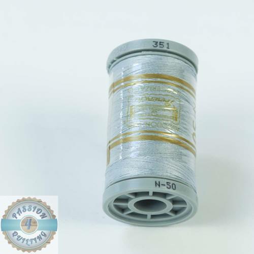 Presencia Cotton Quilting Thread 50wt 500m Colour 351 Silver Blue