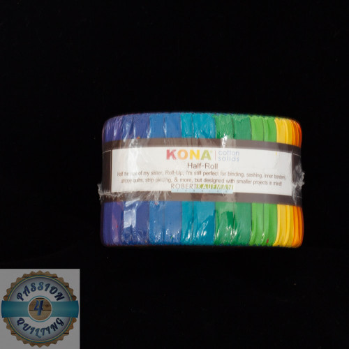 Kona Cotton Rainbow Jelly Roll