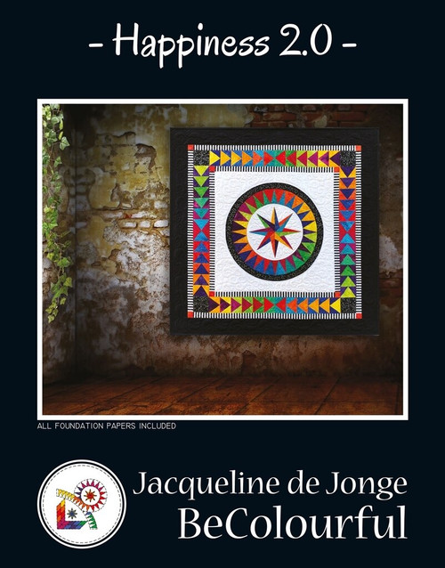 Happiness 2.0. by Jacqueline de Jonge Quilt Kit