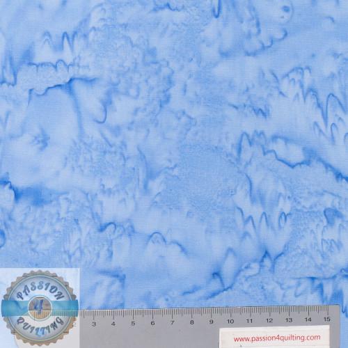 Batik 100Q-1634 Water Lava Solid Blue per 25cm