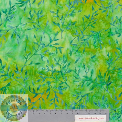 Batik 340Q-6 Jade green Designed by Jacqueline de Jonge per 25cm