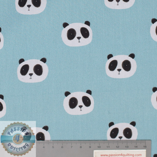 Petit kids Blue Panda face 5161