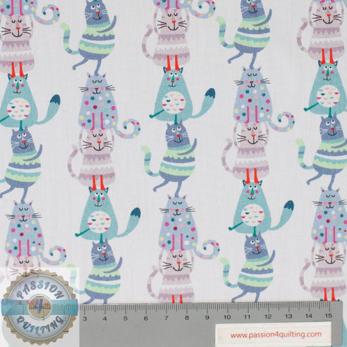 f Petit kids lines of cats 5187