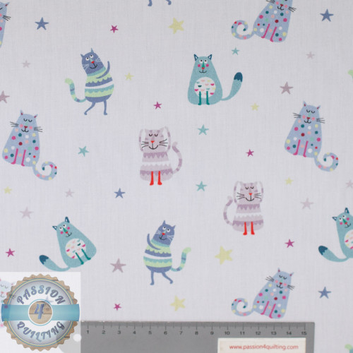 Petit kids spaced out cats 5195