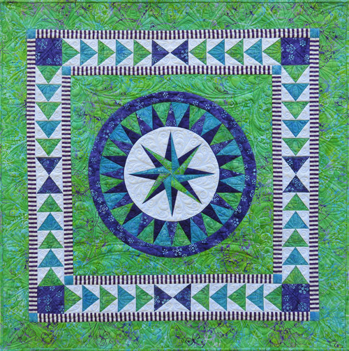 Adventure  Happiness 2.0. by Jacqueline de Jonge Quilt Kit