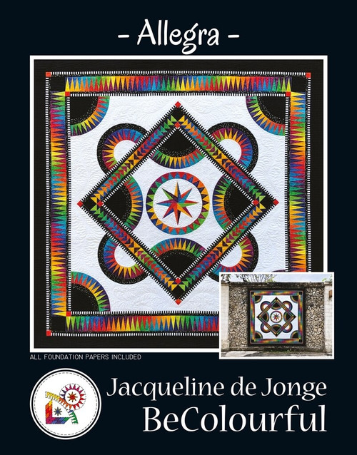Allegra Quilt kit by Jacqueline de Jonge
