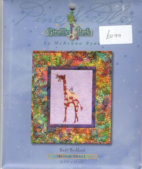 Giraffe Park Best Buddies  by McKenna Ryan