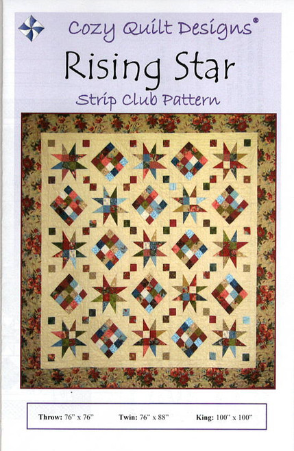 Rising Stars from Stripes Cozy Quilt Designs