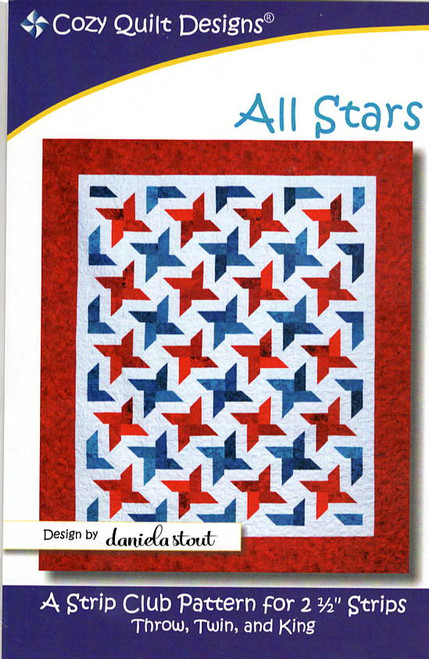 All Stars from Strips by Cozy Quilt Designs