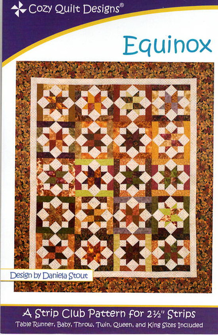 Equinox from Strips by Cozy Quilt Designs