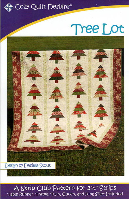 Tree Lot from Strips by Cozy Quilt Designs