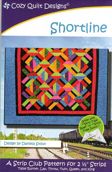 Shortline from Strips by Cozy Quilt Designs