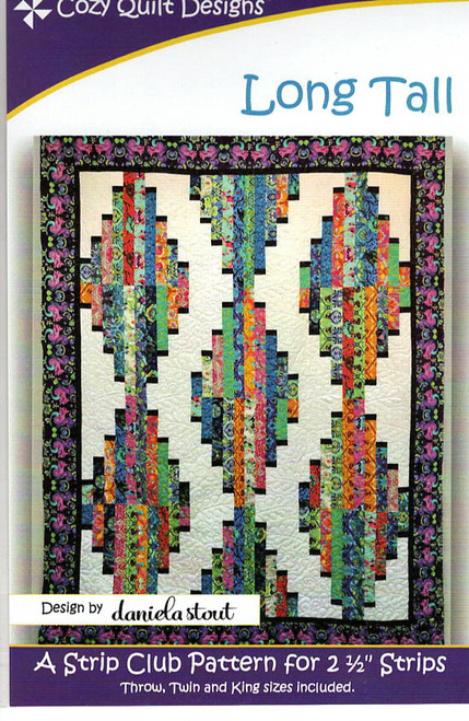 Long Tail from Strips by Cozy Quilt Designs