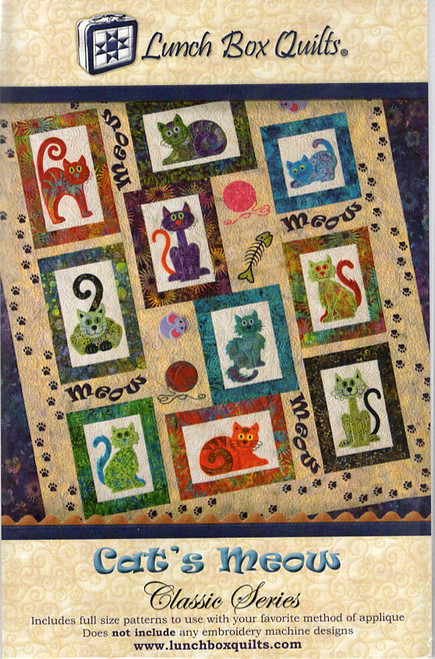 Cats Meow Classic series  from Lunch Box Quilt