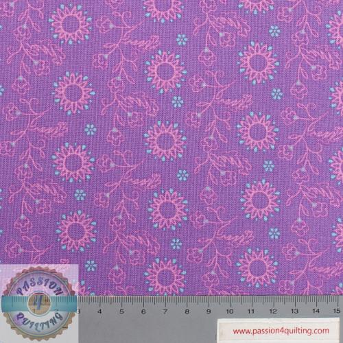 Flowers on Purple 2572-07