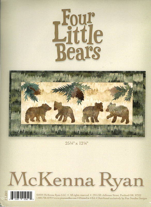 Four Little Bears by McKenna Ryan