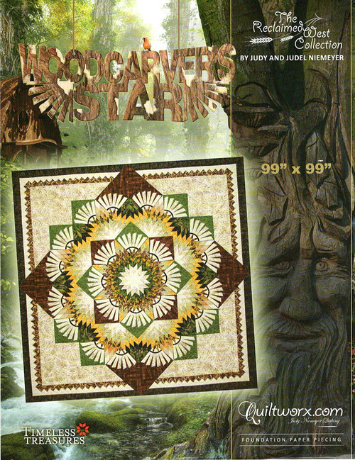 Woodcrafter Star by Judy Niemeyer