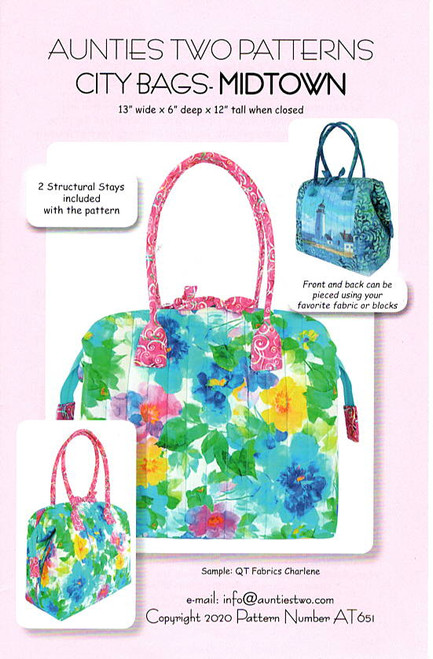 City Bag Midtown by Aunties Two