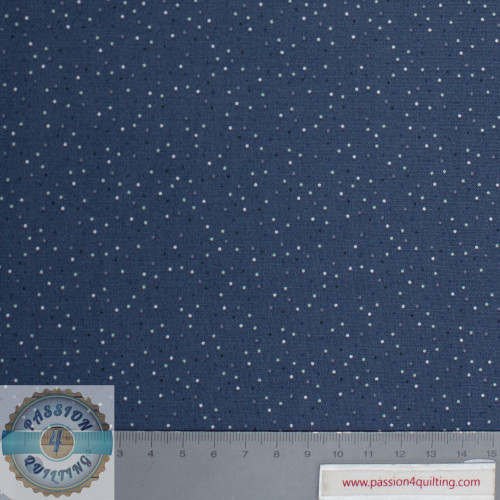 Country Confetti Navy Design 106 per 25cm