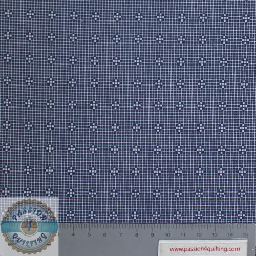 Daisy Mae  White Cross Design 111 per 25cm