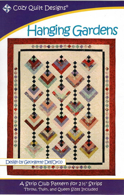 Hanging Gardens from Stripes Cozy Quilt Designs