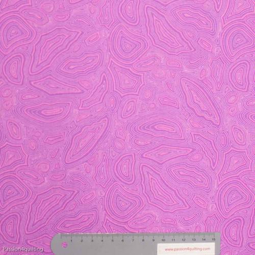 Tula Pink Mineral Tourmaline Purple per 25cm