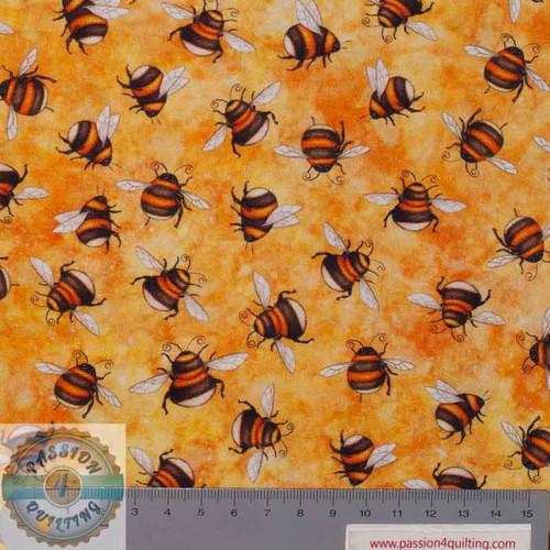 Always Face Sunshine Bee 1649 27847S Yellow  per 25cm